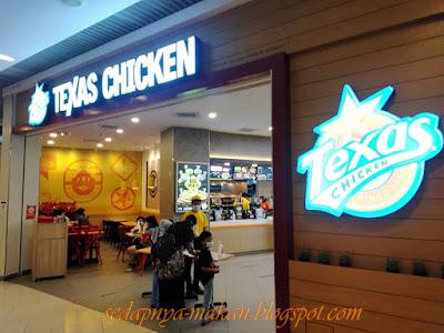 Restoran Texas Chicken, Queensbay Mall