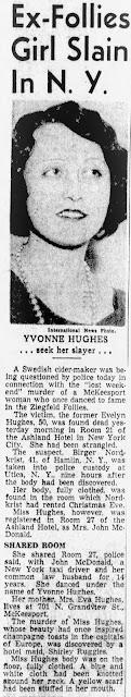 Yvonne Hughes Murder