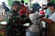 Dandim 0431/Bangka Barat Letkol Inf Agung Wahyu P Gencarkan Sosialisasi Penegakan Disiplin Protokol Kesehatan Penanganan Covid-19