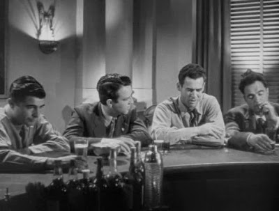 George Cooper, William Phipps, Robert Ryan, Sam Levene - Crossfire (1947)