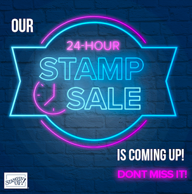Stampin' Up! 24 Hour Sale Coming Soon!