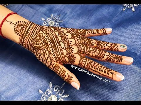 180 Best Rajasthani Bridal Mehndi Designs For Full Hands