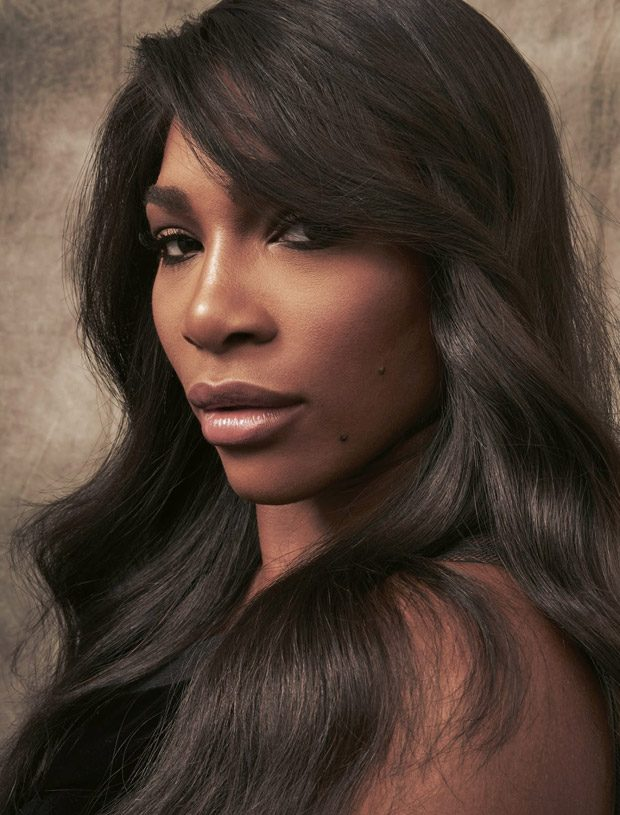 Serena Williams goes glamorous for Grazia Italia