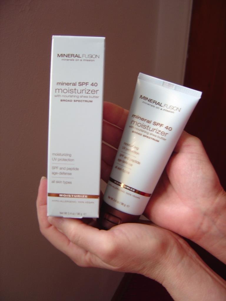 Mineral SPF 40 Face Moisturizer Mineral Fusion