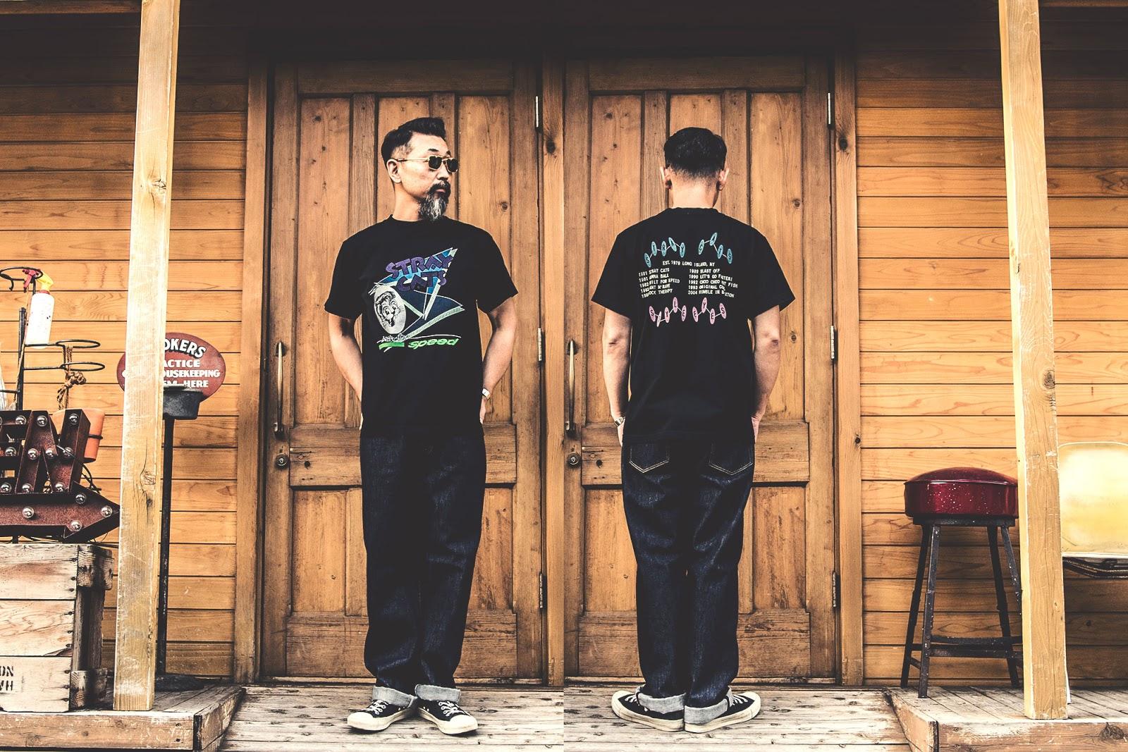 スタイルアイズ ストレイキャッツ Tシャツ ツアーTシャツ  フィフティーズ