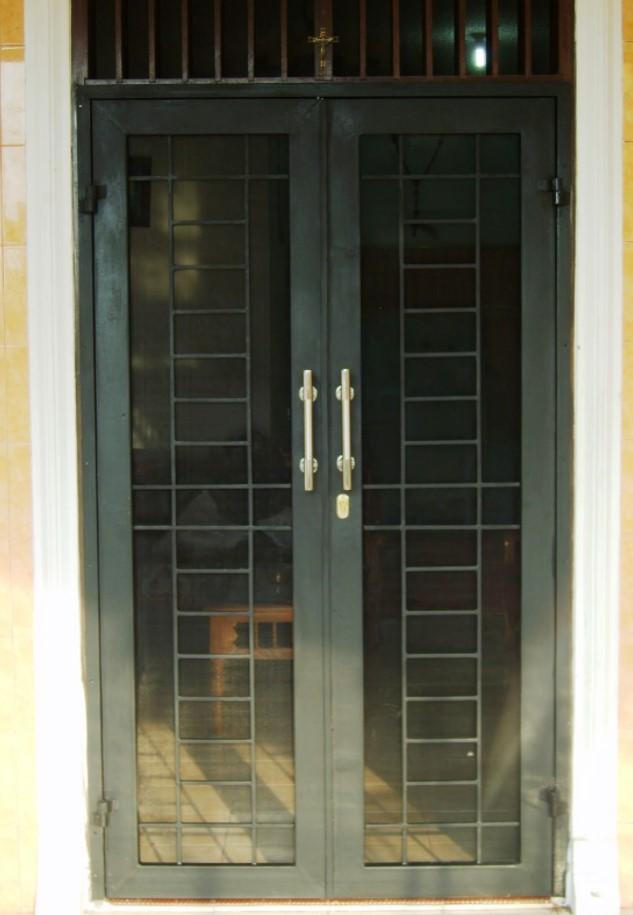 Contoh Pintu Besi Minimalis - Pagar Rumah