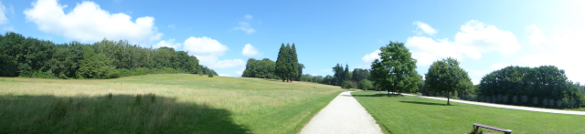 Vista de conjunt del Domaine Solvay