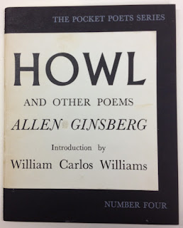 "The cover of the Pocket Poets Series edition of ""Howl."""