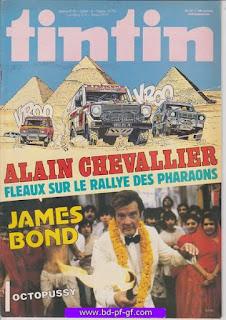 Tintin-numéro 37, année 38, 1983, Alain Chevalier