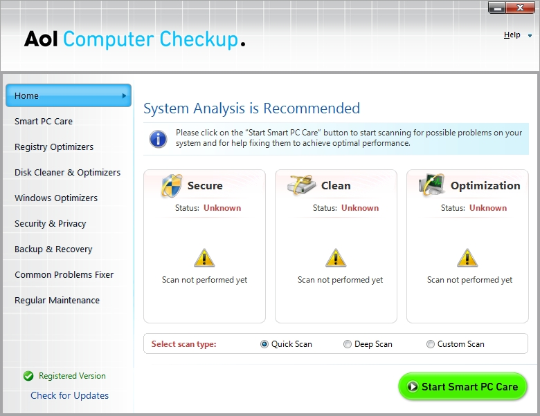 Download free aol computer checkup, aol computer checkup 1. 1 download.
