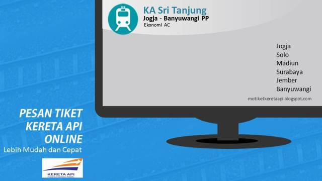 Jadwal Dan Harga Tiket Kereta Api Sri Tanjung Tiket Ka Online