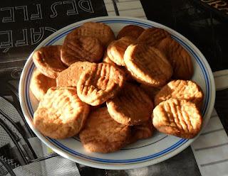 Печенье испеченное на рассоле овощей