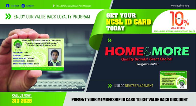 NCSL Loyalty program