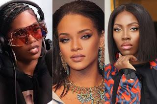 Tiwa Savage Begs Rihanna For A Song Collabo