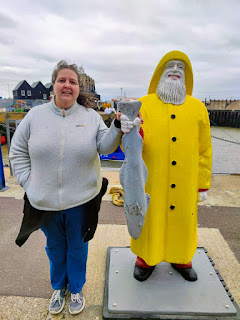 PippaD and the Fisherman at Whitstable