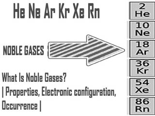 What Is Noble Gases?