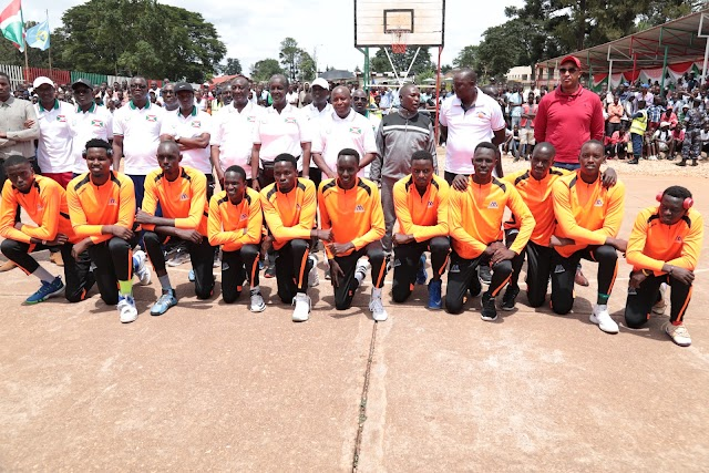 Inkino zo kurondera uburyo bwo kwubaka Centre d'entrainement olympique