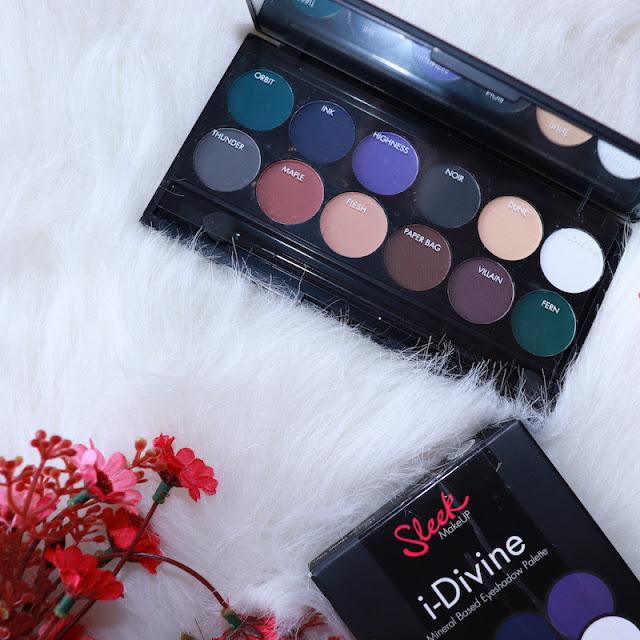 sleek makeup i divine ultra mattes darks göz farı paleti incelemesi 2