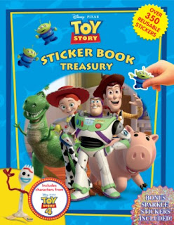 Cover Toy Story Sticker Treasury Book
