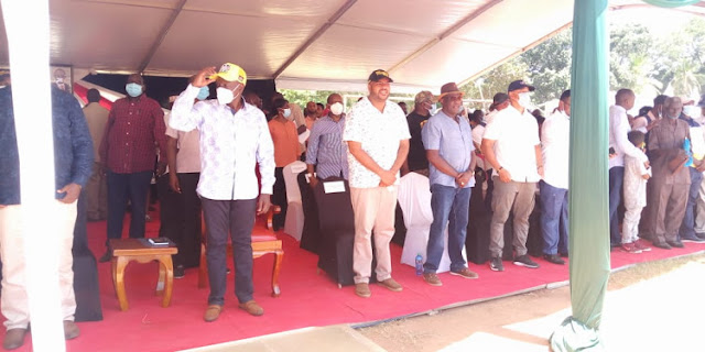 Deputy President William Ruto in Kwale photo