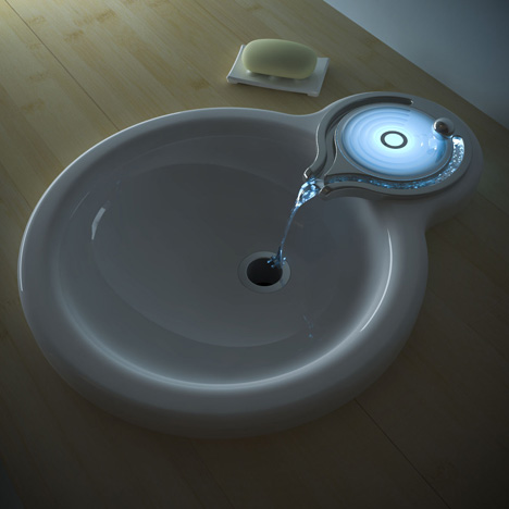 15 Coolest and Awesome Illuminated Faucets.