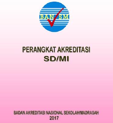 POS dan Perangkat Akreditasi Sekolah SD/MI SMP/MTs SMA/MA SMK Tahun 2017