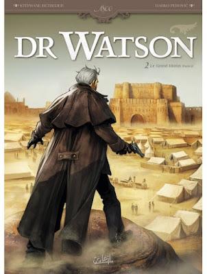 BD Docteur Watson T2 de Stéphane Betbeder et Darko Perovic