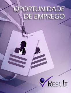 RESULT SELECIONA PROFISSIONAIS PARA VAGAS DE EMPREGO EM REGISTRO-SP