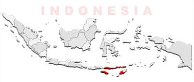 image: East Nusa Tenggara Map location