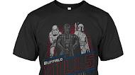 Buffalo Bills Junk Food Empire Star Wars T-Shirt