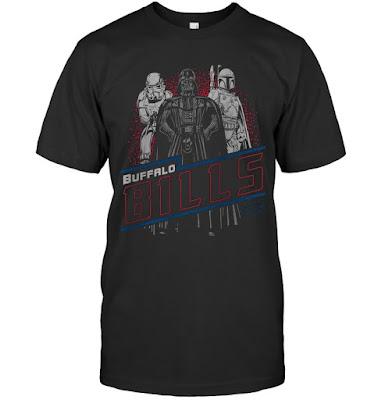Buffalo Bills Junk Food Empire Star Wars T-Shirts