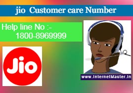 jio customer care number -Internet Master