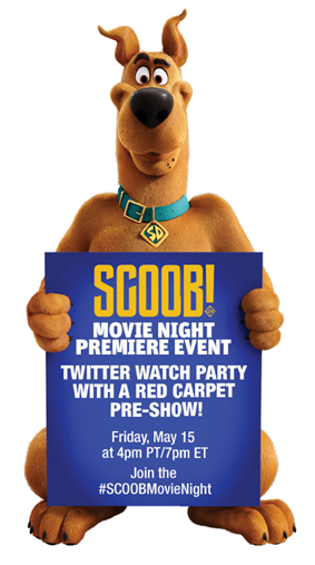 twitter Party, #SCOOBMovieNight