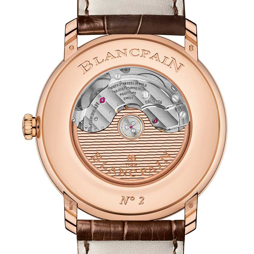 Blancpain Villeret Grande Date Mechanical Watch