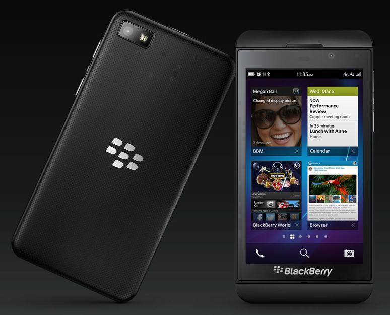 SysPhones: Specs: BlackBerry Z10