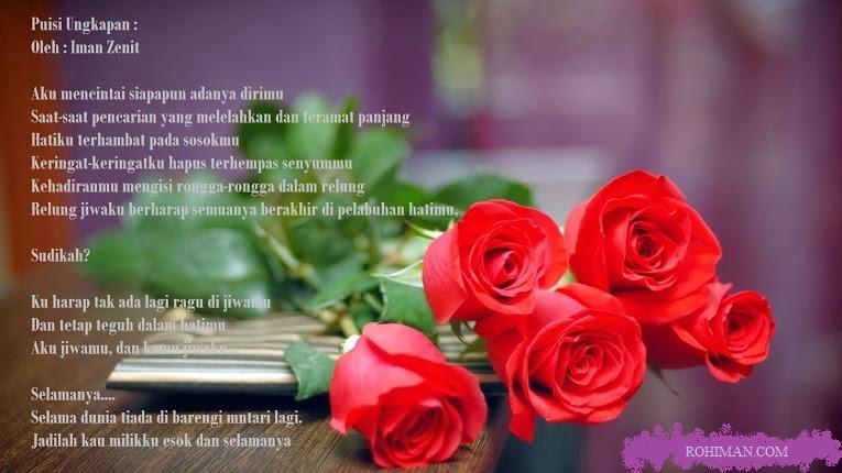 Kumpulan Puisi Pernyataan Cinta