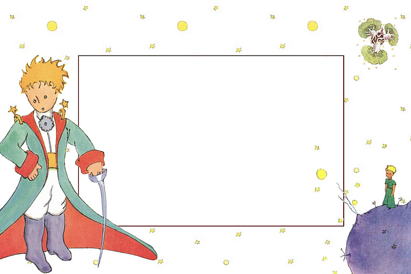 The Little Prince Invitations And Free Printables Oh My Fiesta
