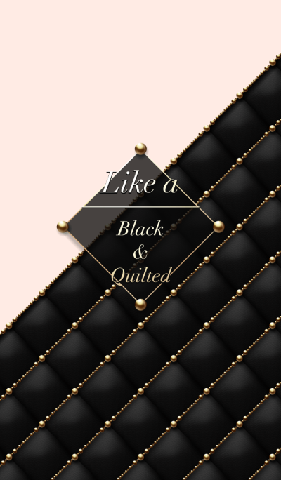 Like a - Black & Quilted #Star