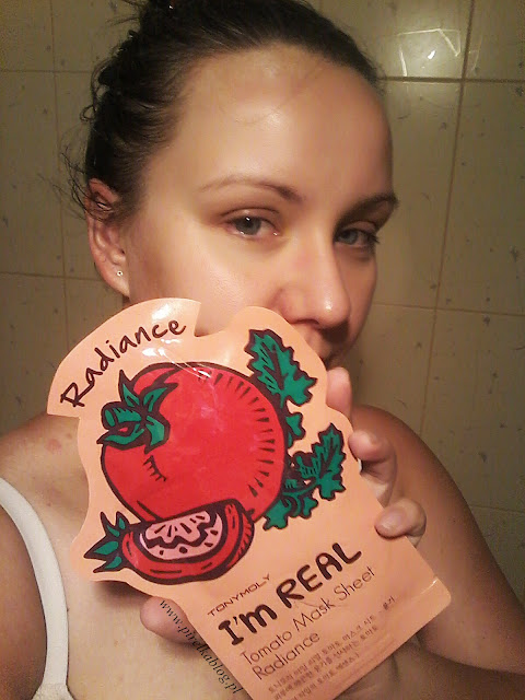 Tony Moly, I Am Real Mask Sheet - Maski w płacie Tomato & Aloe