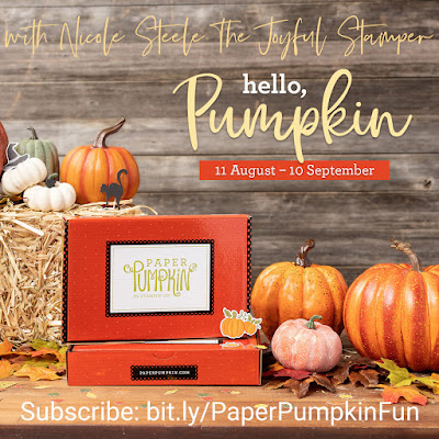 September Paper Pumpkin monthly subscription stamp kit, fall, halloween, thanksgiving, cracker box treat packaging, treat holders, handmade cards, stampin' up!