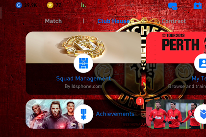 Patch Pes 2020 China Manchester United V4.0.0 New Miniface [11/01/20]