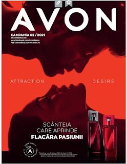 AVON Promotii + Catalog-Brosura  № 2  1-28.02 2021 →  ATTRACTION ♥ DESIRE