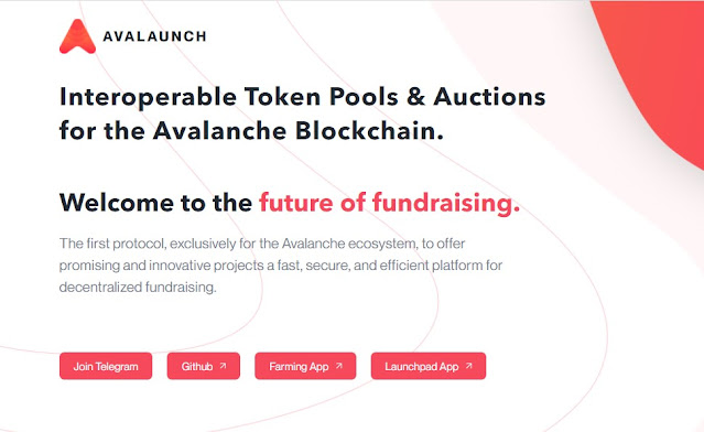 Screenshot Website Avalaunch (XAVA)