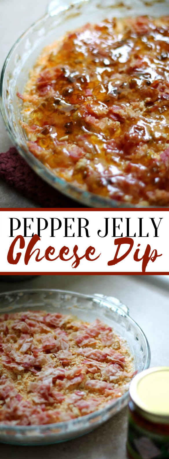 Pepper Jelly Cheese Dip #appetizers #dinner
