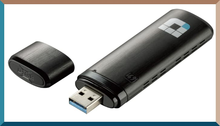 قطعة واي فاي للكمبيوتر Wireless AC1200 Dual Band