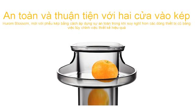 Máy ép văn hóa - HUROM BLOSSOM, An văn và văn hóa hai trang trong khi mua lgvietnam.top