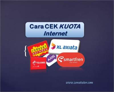 Cara Cek Kuota Data Internet
