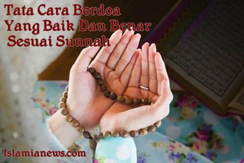 Tata Cara Sebelum Berdzikir Berdo'a  Yang Baik Benar Sesuai Sunnah