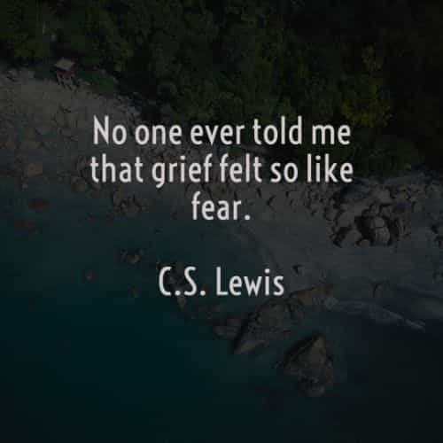 Famous quotes and sayings by C.S. Lewis