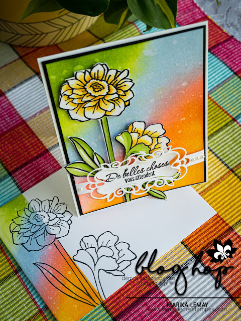Carte avec le lot Band together Stampin' Up!